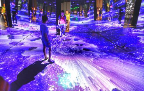 深圳市全国科技活动周在福田Skyland未来科技馆启动