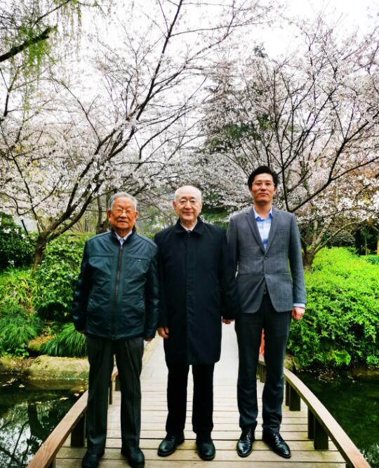 國家林業部原副部長劉廣運蒞臨萬律公司指導工作