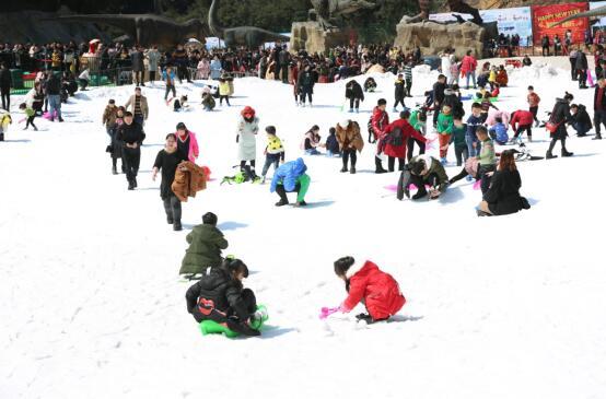 重庆滑雪受暖冬影响 奥陶纪景区雪场逆袭市场 -