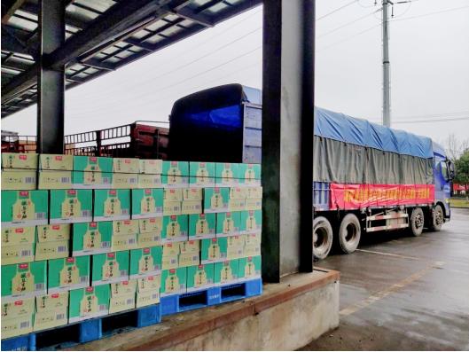 加加食品向湖南省慈善总会捐赠100万元物资