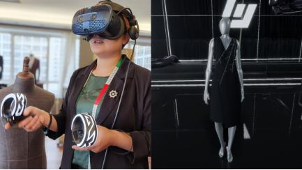 VR新技术或彻底颠覆传统服装设计方式